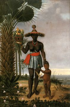 Albert Eckhout (circa Mulher Africana African woman 1641 oil on canvas 267 × 178 cm × in) Current location: National Museum of Denmark Black Brazilian, Brazilian Women, African Women, African Art, Albert Eckhout, Black History, Art History, African American History, Native American