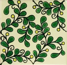 Especial Decorative Tile - Parra Vina Verde