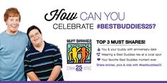 Best buddies teams provides friendship opportunities for people with developmental disabilities.