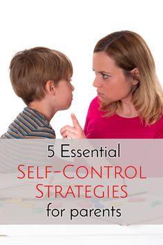 5 Self-Control Strat