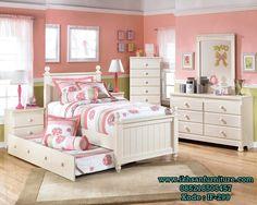 Jual Set Tempat Tidur Sorong Anak Perempuan Desain By Furniture
