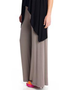 83c28295927b Βαμβακερή παντελόνα σε γήινες αποχρώσεις — mat. XXL sizes