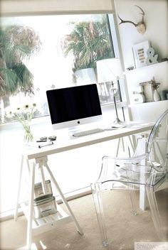 Serene office space