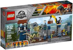 LEGO Jurassic World 75931 : Dilophosaurus Outpost Attack