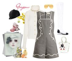 """""""Soooo Munich-the style of my hometown. Easter Weekend"""" by juliabachmann ❤ liked on Polyvore featuring Sara Battaglia, Chanel, Jennifer Ouellette and Burberry"""