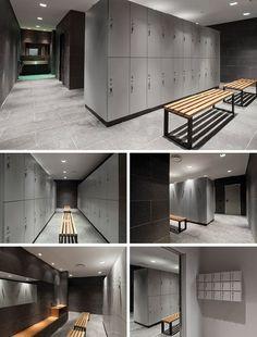 Reception desks, Reception desk, Gym lockers, Gym locker, Storage lockers, Storage locker by GRUPPO P: