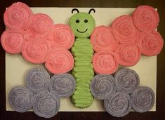 For Emma's 1st bday- cupcake butterfly - birthday idea