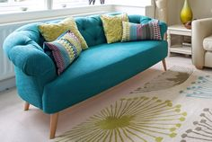 There's nothing quite as striking as a turquoise and green color palette! I love…