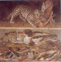 The House of the Faun covered a block in Pompeii before it was covered in ash and pumice from the eruption of Mt. Vesuvius in A.D. 79. Since its excavation, it can be seen on the Via di Nola. The house is called the House of the Faun because of a bronze statue of a dancing faun.