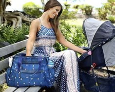 Next Mommy Baby Diaper Bag with Changing Pad, Stroller Clips and Shoulder Strap, Blue : Baby Best Backpack Diaper Bag, Cute Diaper Bags, Cool Backpacks, Changing Pad, Gym Bag, Shoulder Strap, Diapering, Blue, Ebay
