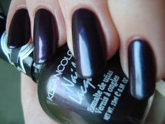 KleanColor Bright/Moody over OPI Pamplona Purple *click for more*