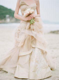 Vivian Luk Atelier sea life inspired bespoke wedding dresses / photographed by Alea Lovely