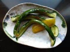 Tsukemono: pickle de concombre au citron et au piment, à la japonaise (Un peu gay dans les coings - blog)