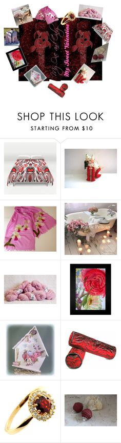 My Sweet Valentine by stuffezes on Polyvore featuring Belleza, Kasper & Company ASL and New House Textiles
