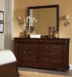 Picture Dark Wood Dresser, Balls Recipe, Cupboards, Sofas, Vanity, Bedroom, Chair, Table, House