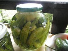 Paprika a uhorky konzervované bez sterilizácie na studeno/ fotorecept/
