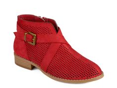 red boots, size 6.5 or 7