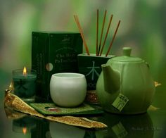 Natural Remedies for Allergies - Green Tea and Coconut Water.