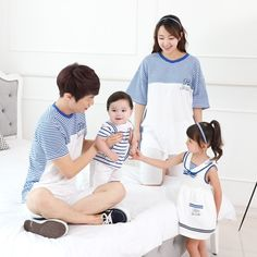 Stripe HEY SAILOR Outfit for Kids and Adults