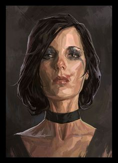 English Woman Face - Pictures & Characters Art - Dishonored