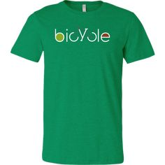 Bicycle - active wear shirt – Handcrafted Pixels