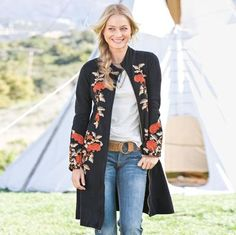 floral embroidered stella coat. i've been eyeing this one for a while, but $188 is hard for me to swallow. on the other hand, i'd have it for for-ev-er. and i love it with the white T and jeans. of course i'm a sucker for that look, too