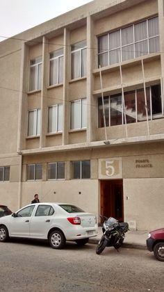 """Quinta Compañía """"Pompe France"""", Valparaíso"""