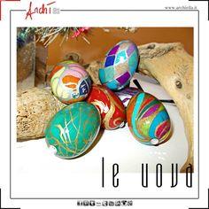 Uova in legno decorate a mano. Info archiella@libero.it Naples-Italy