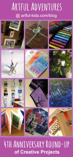 Artful Adventures 4th Annual Round-up of Creative Projects @Artful-kids.com/blog