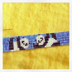 I've been on a bit of a bead looming mission lately... Oops! Look at the little pandas though :) hopefully will be added to The Corner of Craft Etsy page today!