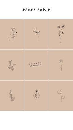 Boho instagram highlight covers Instagram Logo, Free Instagram, Beige Aesthetic, Aesthetic Vintage, Dibujos Zentangle Art, Beige Highlights, Line Art Flowers, Pix Art, Instagram Frame Template