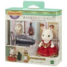 JP Sylvanian Families TS-03 Town Series Violin Concert Set **PRE ORDER**   Dolls & Bears, Dollhouse Miniatures, Animals & Pets   eBay!