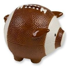 These sports piggy banks are the perfect gift for the sports enthusiasts in your life. They make wonderful gifts for kids' birthdays, Christmas,...
