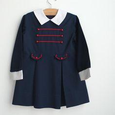Vintage little girl's dress, circa 1960's.