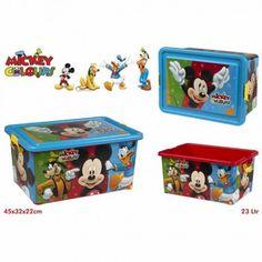 Juguete MICKEY CAJA ORDENACION 23L Precio 16,60€ en IguMagazine #juguetesbaratos