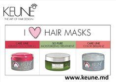 I LOVE KEUNE Hair Masks! Cu drag din Olanda!  CARE LINE KERATIN SMOOTHING http://keune.md/index.php?pag=cproduct&cid=601&l=ro  SO PURE MOISTURZING TREATMENT http://keune.md/index.php?pag=cproduct&cid=575&l=ro  CARE LINE COLOR BRILLIANZ http://keune.md/index.php?pag=cproduct&cid=583&l=ro