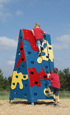 902-873 RBY Challenge Climber from DunRite Playgrounds http://www.dunriteplaygrounds.com/store
