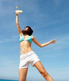 Seis maneiras de perder calorias na areia