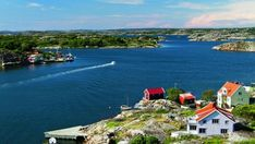 Gothenburg Archipelago, Gothenburg Sweden, Stockholm Sweden, Indoor Waterfall, Sailing Trips, Cool Countries, Beautiful Buildings, The Guardian, Island