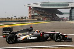 2010 HRT F110 - Cosworth (Karun Chandhok) Chinese Grand Prix, First Car, Formula One, The Past, Racing, F1, Lost, Cars, Running