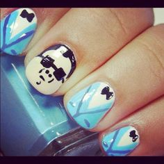 Gangnam Style nails