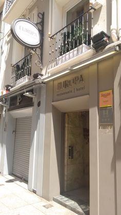 Restaurante Europa de Pamplona o Iruña.