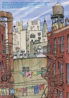Urban Sketchers: Old Time New York