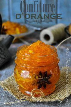recipe Quick and easy orange jam / orange marmelad - noel - Seaside web Orange Jam, Compote Recipe, Vegetable Drinks, French Food, Sweet Recipes, French Recipes, Jam Recipes, Quick Recipes, Dessert Recipes