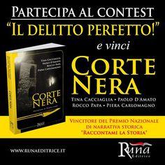 "Contest Runa Editrice - Vinci Copia Cartacea ""Raccontami La Storia"" https://www.facebook.com/runaeditrice/photos/a.332708610106030.76240.332698303440394/972365882806963/?type=3"