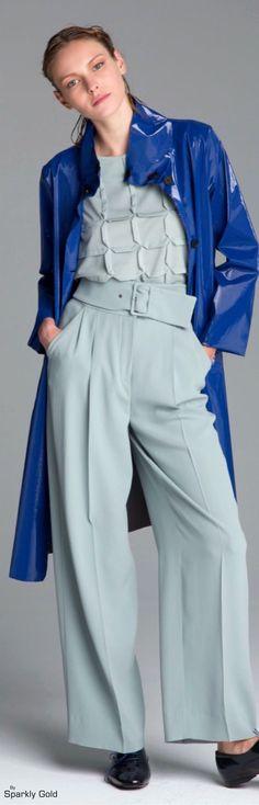 Emporio Armani Resort 2016 women fashion outfit clothing style apparel @roressclothes closet ideas