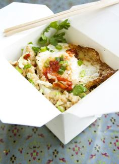 Fried Egg Fried Rice from Blue Owl