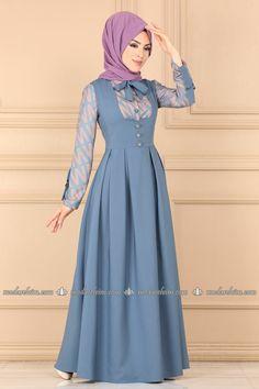Modest Fashion Hijab, Abaya Fashion, Muslim Fashion, Kimono Fashion, Fashion Dresses, Girls Occasion Dresses, Girls Maxi Dresses, Muslim Long Dress, Culture Clothing