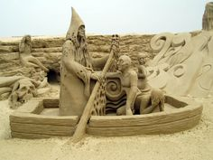 sans scuptures | 4th - Sand Sculptures at Great Yarmouth: E2BN Gallery