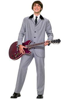 Costumes Men's Beatles Style Ed Sullivan Show Costume Suit 2 Pc Pants 1960s Costumes, Group Costumes, Adult Costumes, Pirate Costumes, Men's Costumes, Woman Costumes, Funny Costumes, Mermaid Costumes, Couple Costumes